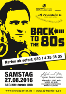 2016-27.08. Back to the 80´s Vol. 7. Tegeler Seeterassen