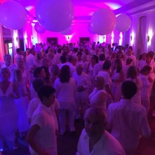 Die weiße Partynacht im Landhaus Hubertus 2017