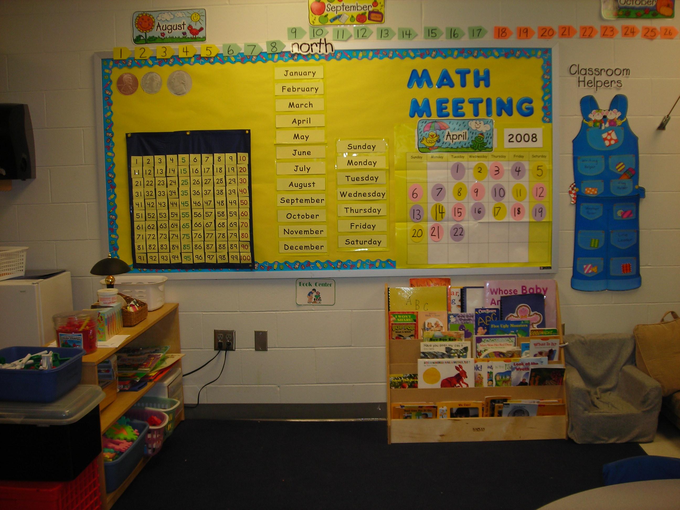 Our Kindergarten Room