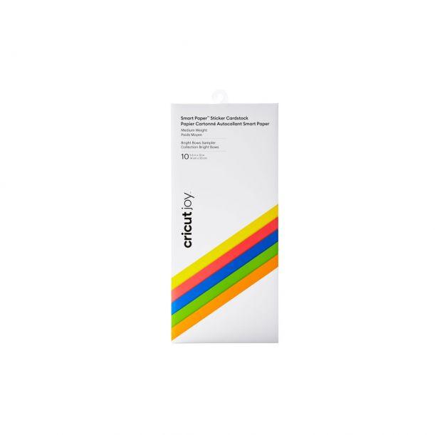 Cricut Joy™ Smart Paper™ Sticker Cardstock, Bright Bow Sampler