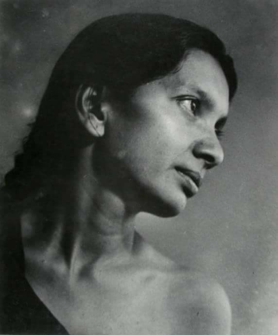 """Revolutionary """"Khalpana Dutta"""" was an activist and a member led by Surya Sen, Which carried out the Chittagong armoury raid in 1930, Chittagong (1940s)"""