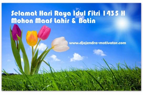 Hari Raya Idul Fitri 1435 H - 2014