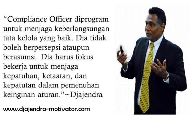 COMPLIANCE OFFICER DJAJENDRA
