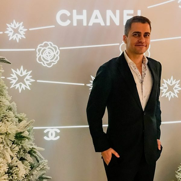 Andrew Ford at Chanel Store Opening
