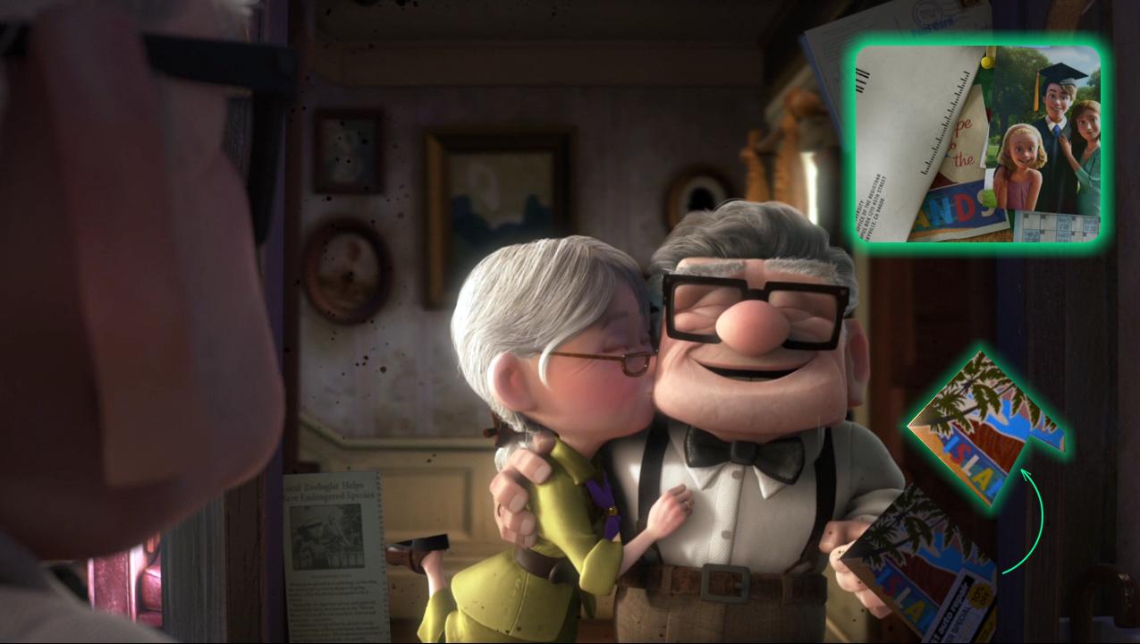 Cameos Pixar en Up Una Aventura de Altura  DJBarchs