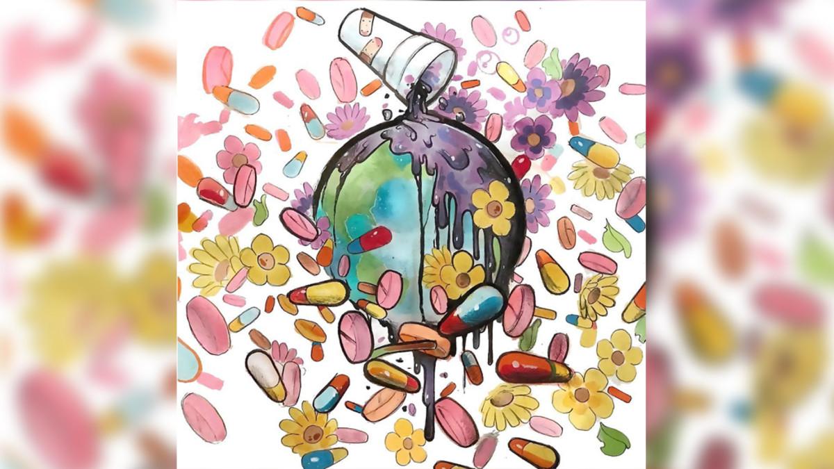 Drug Cartoon Drawings