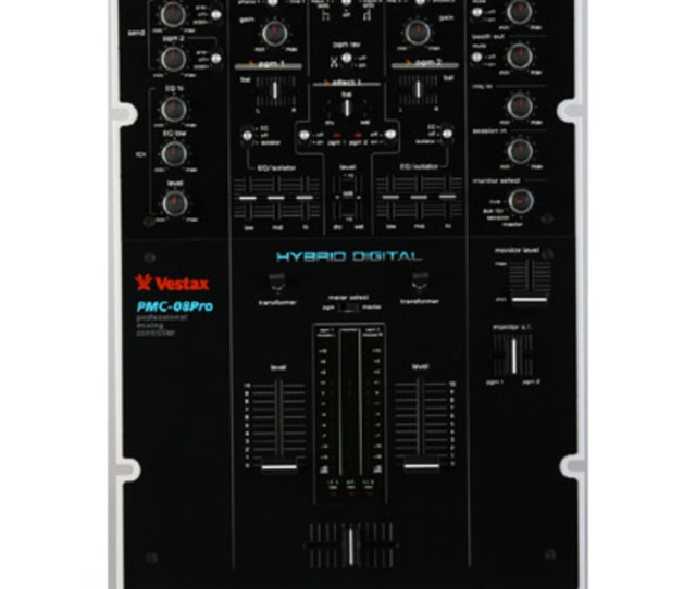 Overview The Vestax Pmc 08 Pro