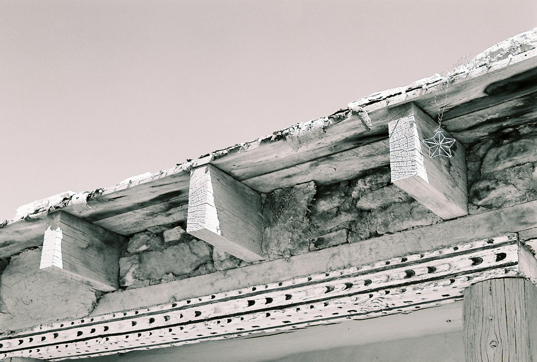 Acoma Pueblo Detail, photo by Claire