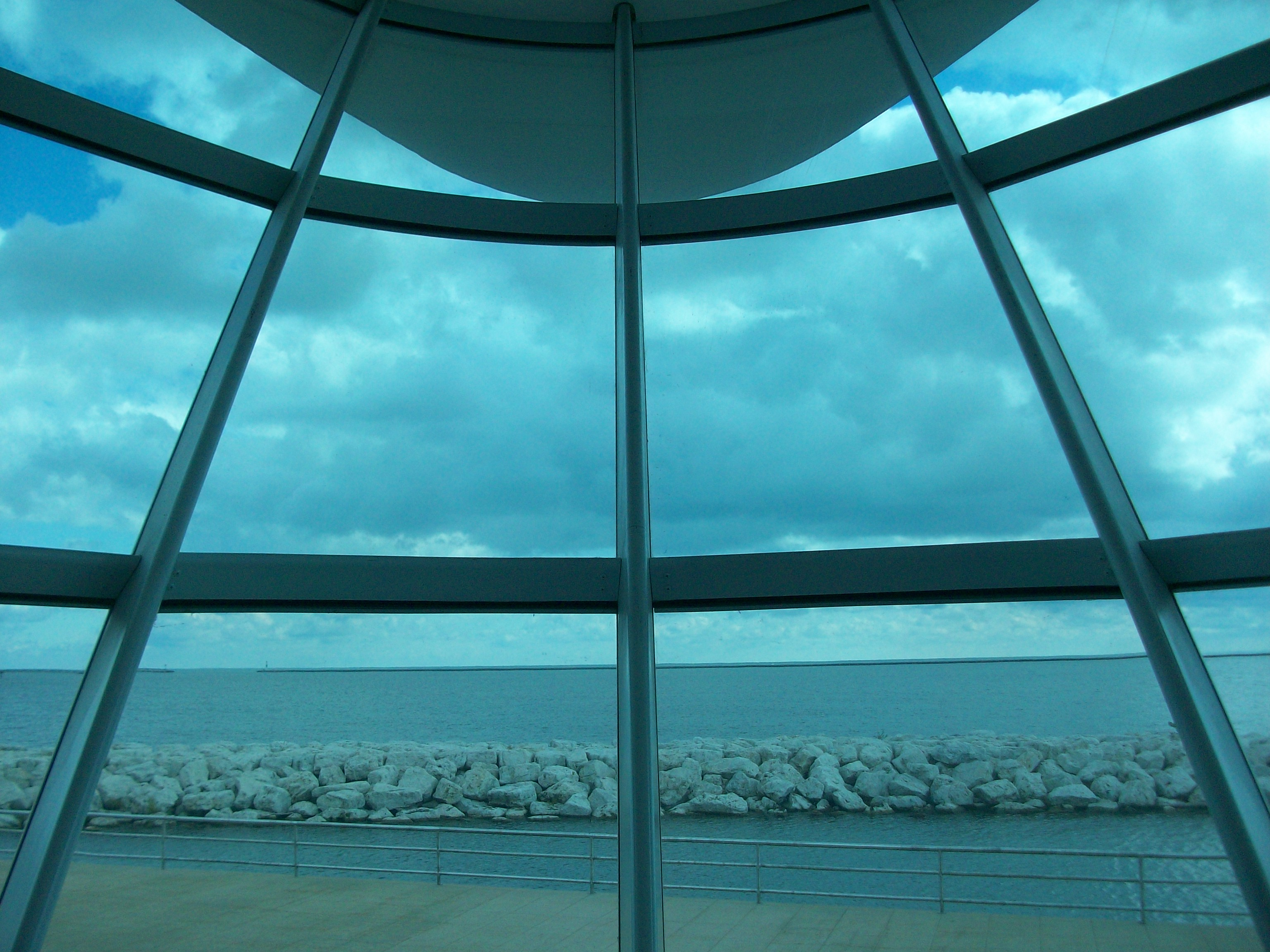 Calatrava's Milwaukee Art Museum View to the Lake