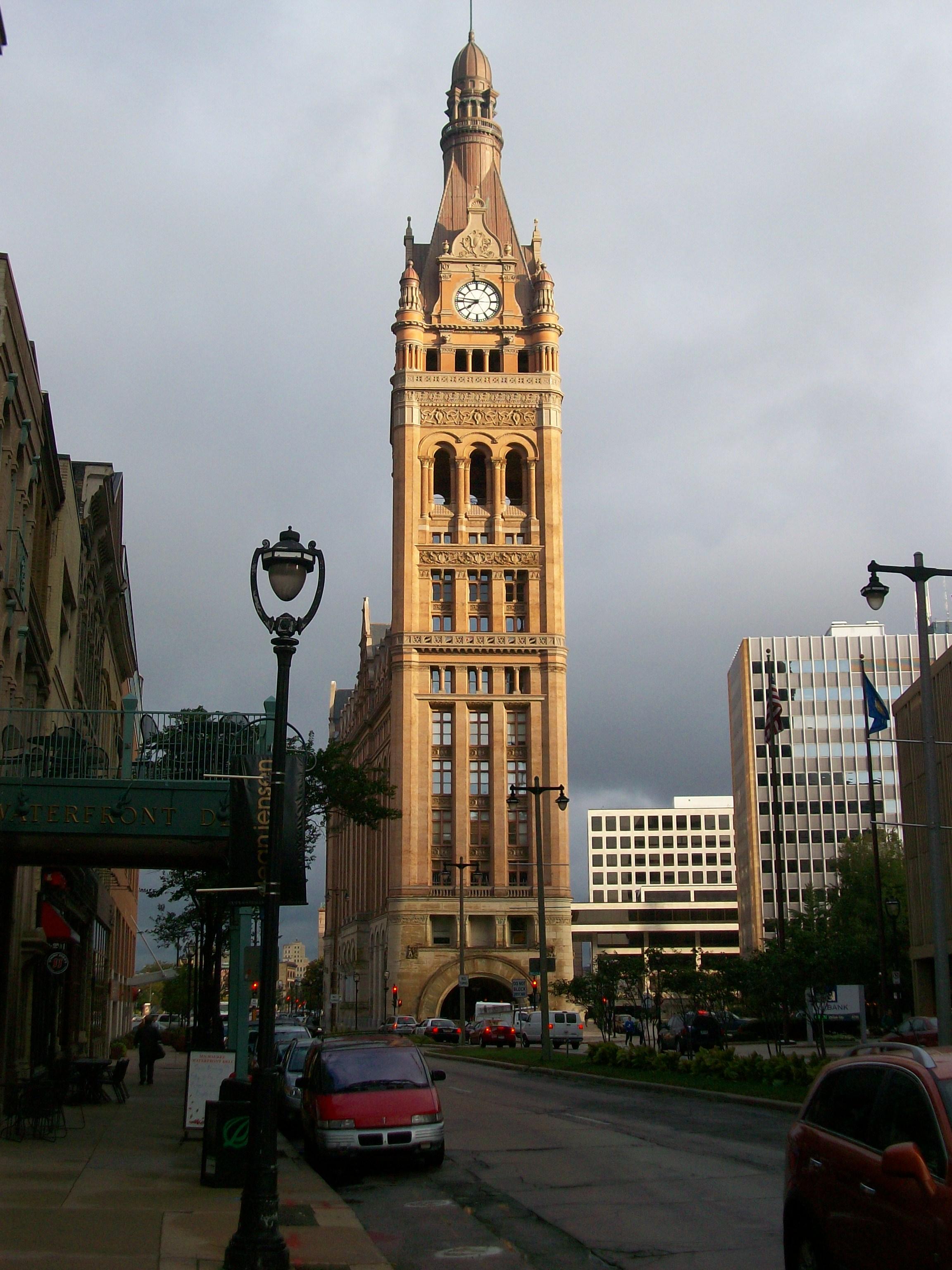 Milwaukee City Hall Exterior View