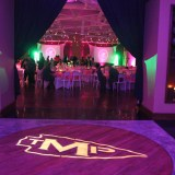 cool-monagram-lighting-for-party
