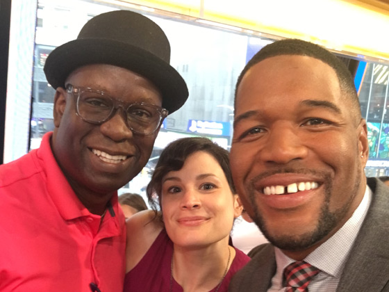 GMA features Michael Strahan and DJ Carl©