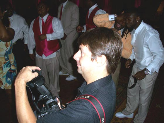 Bryant McFadden photos with photographer, Derek Smith