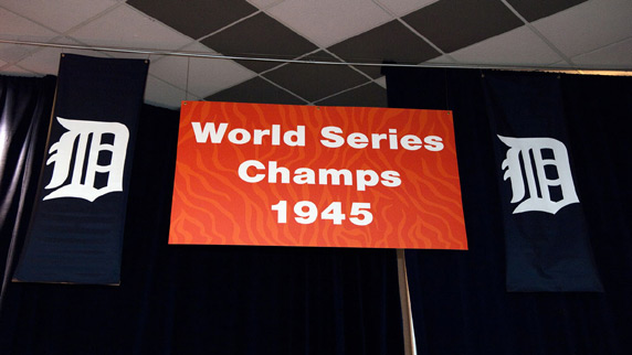 The Detroit Tigers 1945 Champions