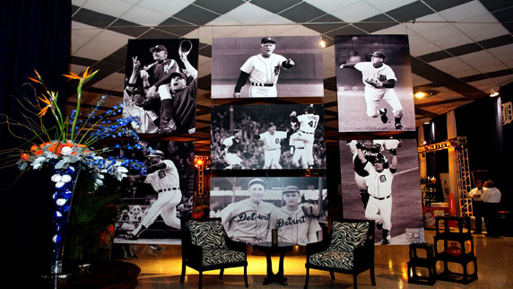Detroit Tigers event history pictures
