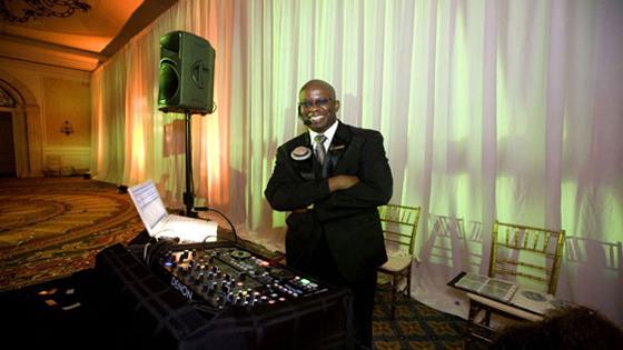 DJ Carl© at Ritz Carlton wedding