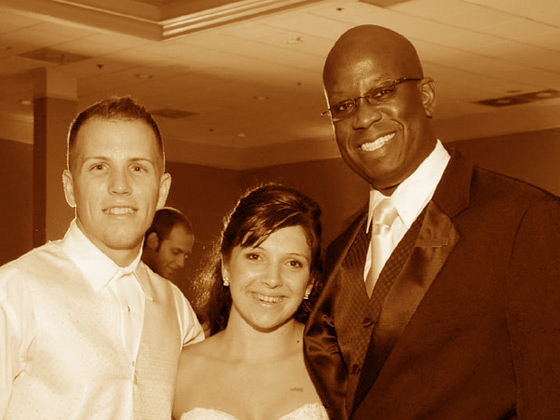 Hilton Orlando wedding with Murielle and Brandon