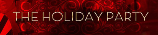 Holiday party banner