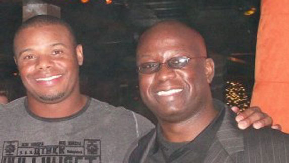 Ken Griffey Jr. and DJ Carl©