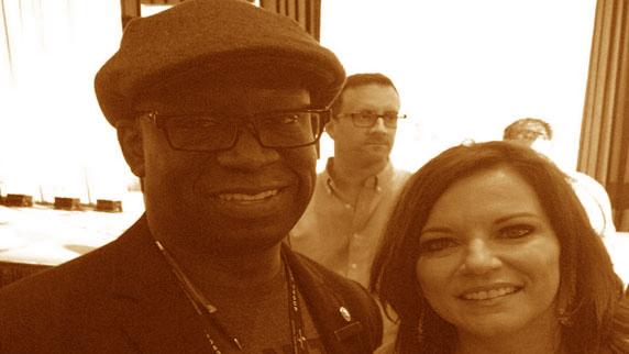 Martina McBride and DJ Carl©
