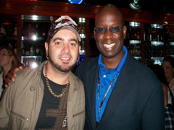 Chris Kirkpatrick with MTV DJ Carl©