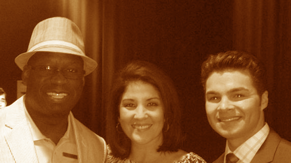Nancy Alvarez, Jorge Estevez, and DJ Carl©