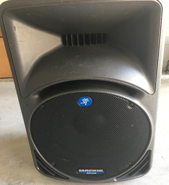 Rent Mackie SRM 450 Speakers in Orlando Florida