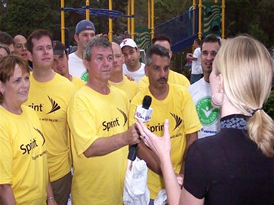 Sprint corporate event in Orlando