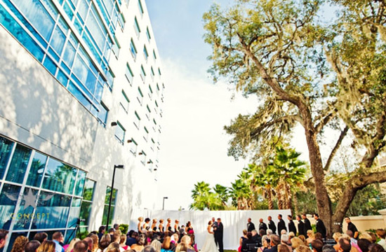The Westin Lake Mary ceremony
