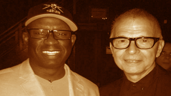 Tony Visconti and DJ Carl©