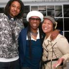 DJing at Studio 450 with my WAFF family, the one and only, Nile Rodgers and my assistant Tres Myers