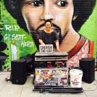 DJing on the street, Alphabet City