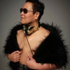 Rev. & DJ CherishTheLuv. Breast Cancer Survivor. Photo by the legendary Michael Halsband