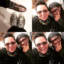 The Shiny Shoe Crew: Good Times CherishTheLuv and Nile Rodgers