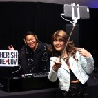 It's tradition now, every time I DJ at Hammerstein or Studio 450, she gets her selfie with me.