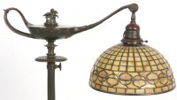 Tiffany Aladdin Floor Lamp w/ Acorn Shade : Lot 83