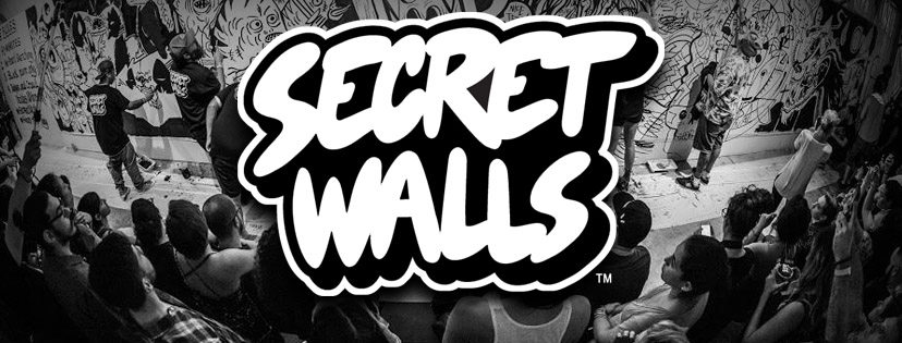DJ CMAN @ SECRET WALLS SYDNEY [LIVE STREET ART x GRAFFITI EVENT] – 9TH NOV.