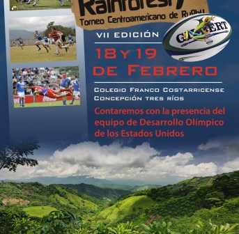 Costa Rica Rainforest Rugby Sevens Day One