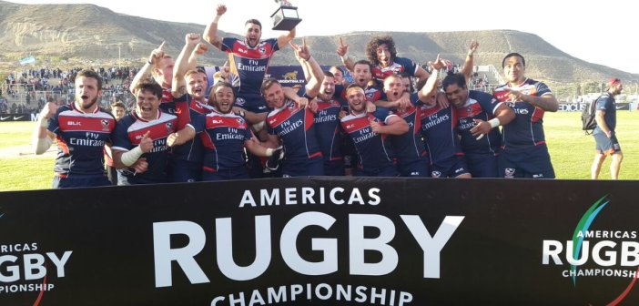 Eagles Win 2017 Americas Rugby Championship