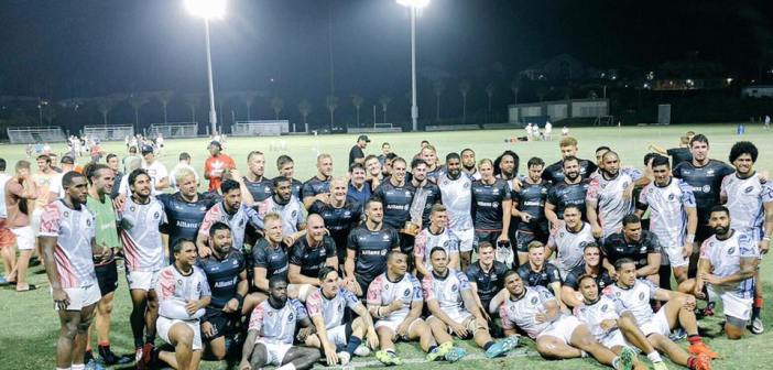 Saracens Roll Over USA Islanders in Bermuda