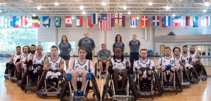 USA Wheelchair Rugby Wins Gold at Americas Championship