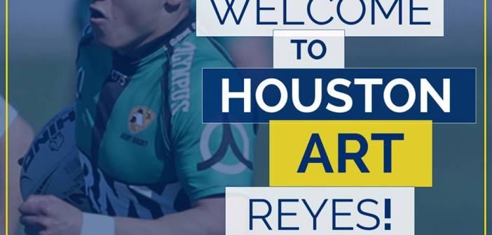 Strikers Rugby Signs Art Reyes