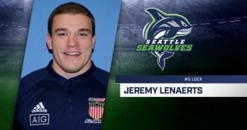 Seattle Seawolves Sign Jeremy Lenaerts