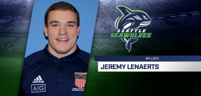Seattle Seawolves Sign Jeremy Lenaerts