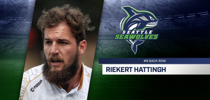 Seattle Seawolves Sign Riekert Hattingh