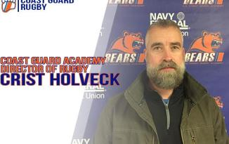 Crist Holveck Named Coast Guard Academy Director of Rugby