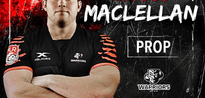 Utah Warriors Sign Eagle Angus Maclellan