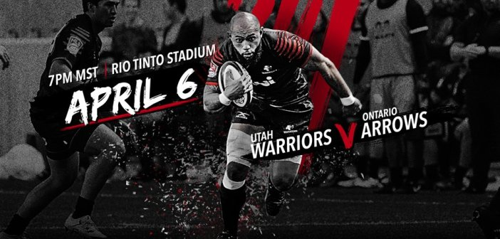 Utah Warriors Face Ontario Tonight Arrows