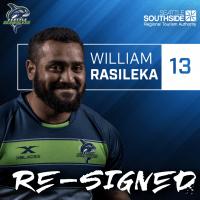 Seattle Seawolves Re-Sign William Rasileka