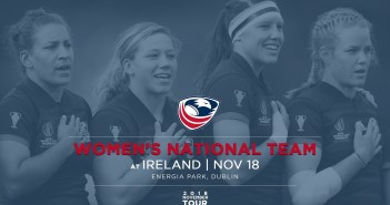 Women's Eagles Play Ireland in November